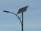 napelemes közvilágítás